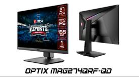 Gaming Monitor MSI Optix MAG274QRF-QD