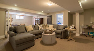 Couches and a Sectional For Sale