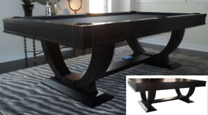 Best Deal! *New solid wood slate pool table *free accessory kit