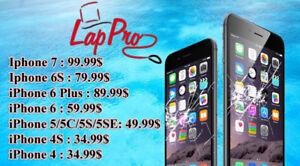 Grande Spécial--  écran iphone 5 5C 5S 5SE 49$