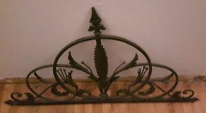 Ornate Wrought Iron Piece