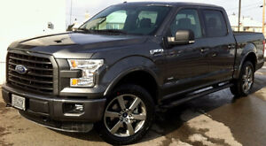 2015 Ford F-150 XLT 2.7L Ecoboost Supercrew 4X4, PANO!!!