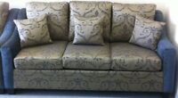 New 3 Piece Sofa Set In Fabric MADE IN CANADA