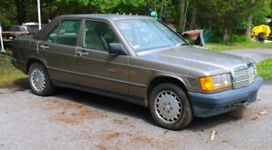1987 Mercedes Benz 190-D Turbo Diesel - AS IS - For BEST OFFER