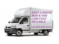 Man and Van Removals London House Office Moving & Clearance Piano Movers East London Man with Van