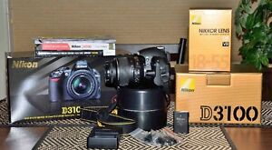Nikon D3100 14mp camera with 18-55mm lens