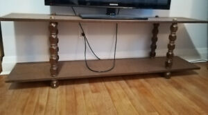 Low bookshelf / tv stand