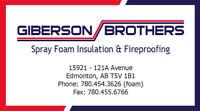 Spray Foam Insulation Services!
