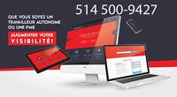 Conception site web - Site internet PRO, Montréal 449$