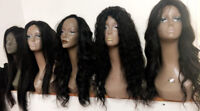 BEST SELLER wigs- human hair- breathable caps - lace closure