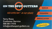 ON THE SPOT GUTTERS Inc.