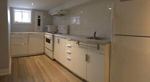 Studio Basement Apartment for Rent