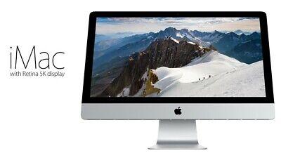 Apple iMac with Retina 5K display A1419 (3.5Ghz, 16GB RAM, 3.12TB Fusion)