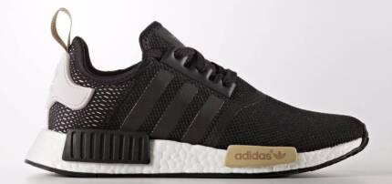 Adidas NMD R1 Black/white/cream - US Size 10 like new