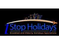 Holidays Abroad for Elderly Disabled and People with Special needs