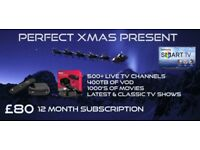 IPTV - NUMBER 1 FOR QUALITY AND SERVICE 24 HOUR FREE TRIAL