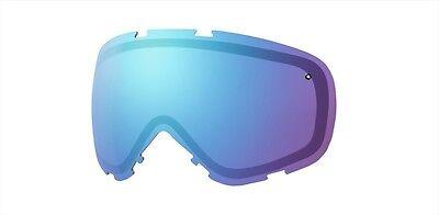 Smith Takt Ski/Snowboardbrille Ersatzglas, Blau Sensor Spiegel ()