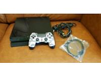 Playstation 4 500gb Black Jet with Call of Duty