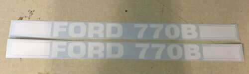 Ford 770B Loader Decals