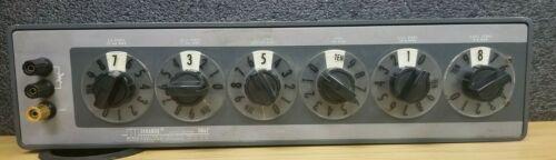 ESI Dekabox DB62 - 6 Decade Resistor Box #I-380