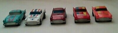 1977 Vintage Hot Wheels 1957  Thunder T-Bird Lot Of 5 Good Condition Ships Free!