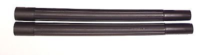 (2) 19 inch BLACK WANDS - Tapered for Vacuum