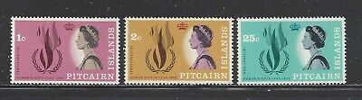 PITCAIRN ISLANDS - 88-96 - MNH -1968 ISSUES (3 SETS)
