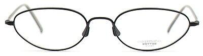 Oliver Peoples Damen Herren Brillenfassung Harmony 50mm schwarz matt oval 102 5