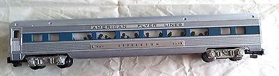 American Flyer 961 Jefferson Coach, Blue Stripe for Comet set