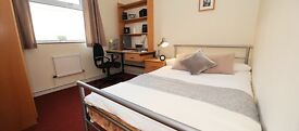 Double student room in a flat share (short term)