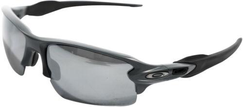 NEW Oakley POLARIZED Flak 2.0  Matte Grey / Black Iridium Polarized, OO9295-2159