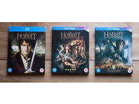 The Hobbit - all 3 films on Blu-ray