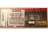 x2 Reading Festival FRIDAY Tickets £120 Each (ono)