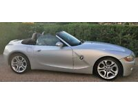 BMW Z4 3.0 convertible SPORT BUTTON 6 SPEED Roof opens off the key! Summer ready!
