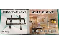 """26"""" to 55"""" tv bracket new wall mount"""