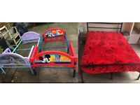 Double Bed + Mattres and Free 2xChildrens Bed