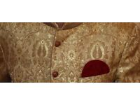 Asian men wedding suit Sherwani 'Mint Condition' with Shoes