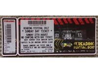 Reading Festival Single Ticket - Sunday 27 August. MUSE. CHARLI XCX. HAIM & more