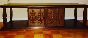 Wooden tv cabinet