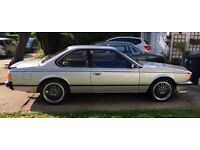 Classic BMW635CSi Superb low mileage.Dry stored 16 years