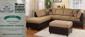 Boxing Week Sale Sectional Sofa ** Recliner Sofa ** Fabric Leather Sofa ** start