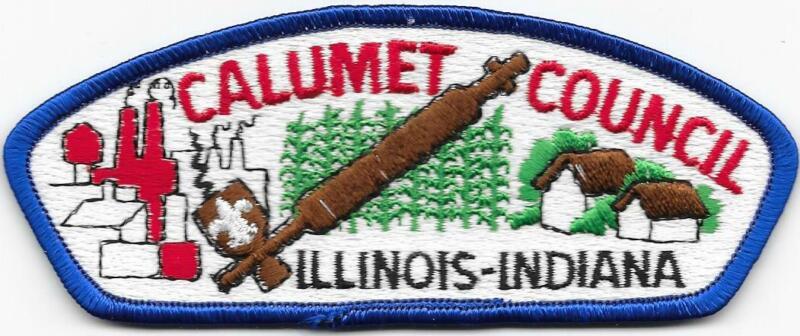 Calumet Council Strip Plastic Back CSP SAP Boy Scouts of America BSA