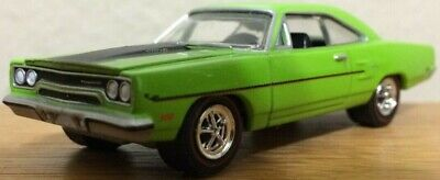 Greenlight Muscle Car Garage 1970 Plymouth Road Runner Coupe 1/64th Scale Model