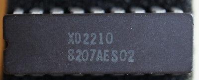 Xicor Xd2210 64x4 Sram 18pin Cerdip Qty 2