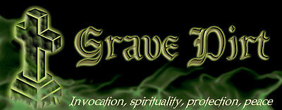 GRAVE DIRT STICK INCENSE ESSENTIAL OIL GOTHIC HALLOWEEN GHOST SPIRIT PROTECTION](Halloween Dirt)