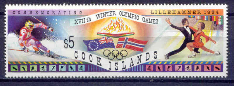 Olympiade 1994, Olympic Games - Cook-Inseln - 1402 ** MNH