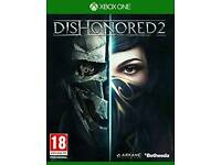 brand new sealed DISHONORED 2 xbox one