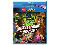LEGO Justice League: Gotham City Breakout Blu-ray DVD