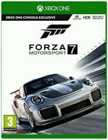 Forza 7 UNOPENED Xbox one