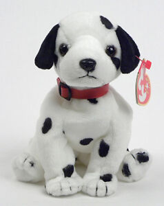 23a729a4bf7 Dizzy the Dalmation Ty Beanie Baby - red collar